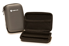 Grey Portable Hard Drive Case Bag Holder Water Shock Resistant - Lifetime Warran