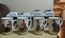 Vintage Collector's Mug Set by Norman Rockwell New with original box