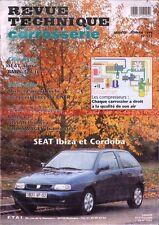 SEAT Ibiza et Cordoba (Tous Types) : Revue Technique Carrosserie
