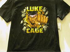 "LUKE CAGE ""BREAK THE WALL"" MARVEL T-SHIRT + LUKE CAGE #1 - FREE SHIPPING"