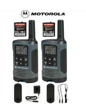 Motorola Talkabout T200TP Walkie Talkie 2 Pack Set 20 Mile Two Way Radio Package
