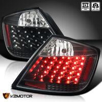 JDM Black 2004-2010 Scion tC Replacement LED Tail Lights Brake Lamps Left+Right