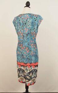 5pm Pattered Dress Size 14