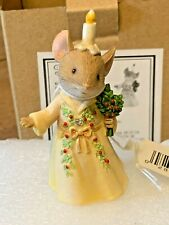 New ListingEnesco Tails With Heart Ghost of Christmas Past Mouse #6006555 With Box