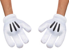 Morris Costumes Adult Unisex Mickey Mouse Adult Gloves One Size. DG85582AD