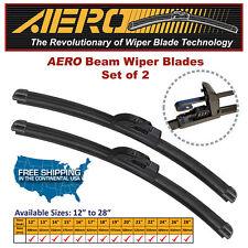"AERO 22"" + 19"" OEM Quality Beam Windshield Wiper Blades (Set of 2)"