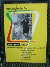 Original Plakat Entwurf von Fehling Klepper , Mäntel, Boot, Zelt         ( 21 )