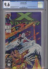X-Factor #63 CGC 9.6 1991 Marvel Porticio and Thibert Comic: New Frame