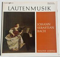 Bach Laute Lute Lautenfassung von BWV 1001 1006 Gerwig musicaphon Bärenreiter