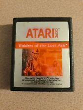 Raiders of the Lost Ark Atari 2600 1982 Game Cartridge Only TESTED Work Perfect