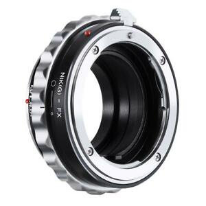 K&F Lens Adapter for Leica R/M42/Canon EF Mount Lens to Fujifilm X Series Camera