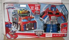 Transformers Playskool Heroes Rescue Bots Optimus Prime Rescue Trailer NIP VHTF