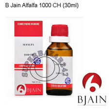 B Jain Alfalfa 1000 CH Dilution 30ml For Improves appetite,Helps in Weight gain