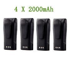 4 x Li-ion Nntn4496 Battery for Motorola Cp040 Cp160 Cp180 Cp340 Cp200Xl Cp340