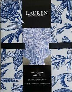 Ralph Lauren Floral Tablecloth  60x104in 152x264cm Oblong Seats 8-10  BNWT