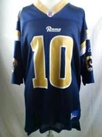 NFL Reebok LA/St. Louis Rams Size Large 10 Bulger Jersey XL