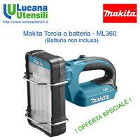 MAKITA TORCIA A BATTERIA modello ML360 36V - cantiere professionale emergenza