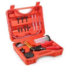 Vehicles Brake Fluid Bleeder Oil Change Hand Held Vacuum Pistol Pump Tester Kit