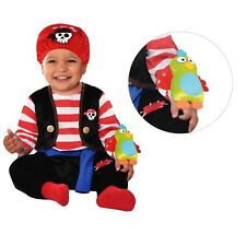 Baby Pirate Buccaneer Costume Babies Shipmate Toddler Fancy Dress Outfit 12 - 24 Months