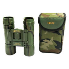 10x25 Binoculars Quality Military Camo Army Camouflage Compact Ruby Coated Lens