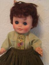 "Sweet Vintage EEGEE 13"" Vinyl Plastic Doll"