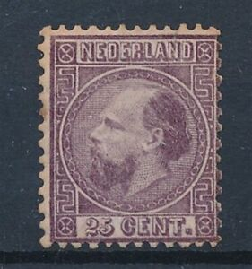 [1307] Nederland 1867 good stamp fine/very fine MH - perf 12.5x12