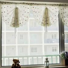 Bowknot Roman Curtain Tie Up Shade for Window,room Rod Pocket Panel 33x93""