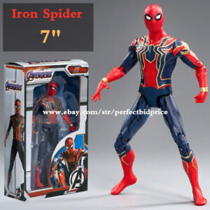 """New Iron Spider Marvel Avengers Legends Comic Heroes Action Figure 7"""" Kids Toys"""