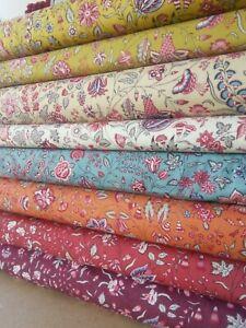 Dutch Heritage 1025 8 Colours Cotton Fabric, per FQ 110cm wide