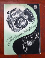 Linhof Sales Brochure, 8 Pages, 1957/211810
