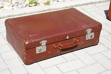 VINTAGE Reisekoffer Hartschale Koffer 65x39x20cm Couch Tisch 50er