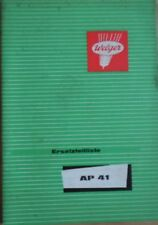 Welger aufsammelpresse ap 41 piezas de recambio lista