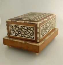 ANGLO INDIAN FINELY MADE CIGARETTE BOX