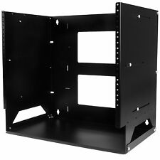 StarTech.com 8U Wall-Mount Server Rack with Built-in Shelf - Solid Steel -