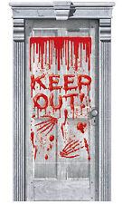 Festa Halloween Porta Horror Decorazione Gocciolante Sangue Raccapricciante