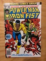 Power Man and Iron Fist #50 1ST LUKE CAGE & IRON FIST TEAM! BYRNE Netflix