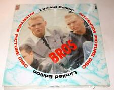 Bros Interview Limited Edition Picture Disc 1980s Tabak UK Import Factory Sealed