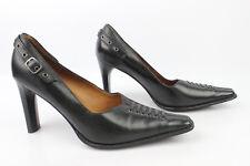 Zapatos ROMANINI Cuero Negro T 39 MUY BUEN ESTADO