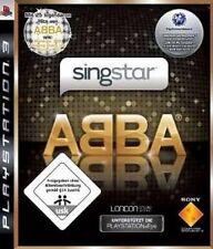 Playstation 3 SingStar ABBA Deutsch * Neuwertig