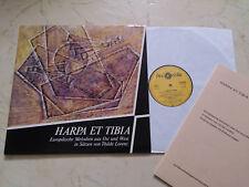 HARPA ET TIBIA Tischharfe+Flöte+Notenheft EUROPÄISCHE MELODIEN Thilde Lorenz
