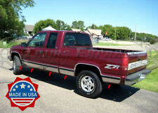 "1988-1998 Chevy/GMC C/K Pickup Extended Cab Short Bed Rocker Panel Trim 6.25""N/F"