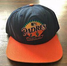 San Diego Padres Vintage Peoria New Era Pro Model MLB Baseball Snapback Hat '90s