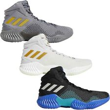 adidas Performance Mens Pro Bounce 2018 Basketball Trainers Shoes White - 13.5UK
