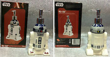STAR WARS R2 D2 DOSA SAPONE CERAMIC SOAP DISPENSER ORIGINAL BOX DROIDE
