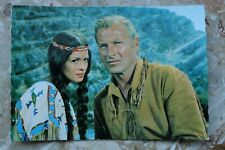 Kino Film Postkarte AK OLD SHATTERHAND Nscho-tschi 1962 Lex Barker Karl May
