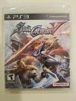Soul Calibur V PlayStation 3 PS3 Brand New Sealed Free shipping NAMCO
