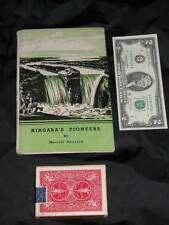 Vintage NIAGARA PIONEER Travel Falls NY History hc Booklet Collectible Book