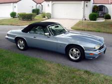 Jaguar XJS Convertible Top Hood Black Twillfast 1989-1996