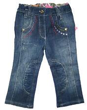 Pampolina traumhafte Jeans Hose  mit Strass Gr. 80 Mädchen NEU UVP 39,95 EUR