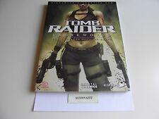 Tomb Raider Underworld Guide Book for PS3 / Xbox 360 **BRAND NEW, SEALED* *RARE*